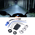 2016 New Motorcycle Motorbike Headlight Headlamp 12V 35W 6000K HID Xenon H6 High/Low Super Bright 3000Lm Conversion Kit Bulb