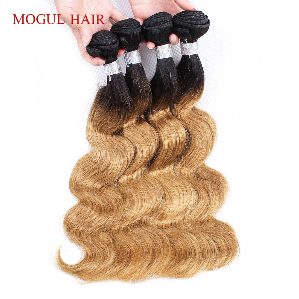 Human Hair Weaves Honey Blonde Bundles With Closure 3 4 613 Body Wave Brazilian 100% Human Hair Iwish Remy Hair Blonde Weave