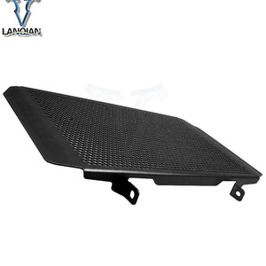 Image 4 - Motorcycle Frames Fittings Radiator Guard Protector Grille Grill Cover for kawasaki z800 Z 800 z800e 2013 2014 2015 2016 2017