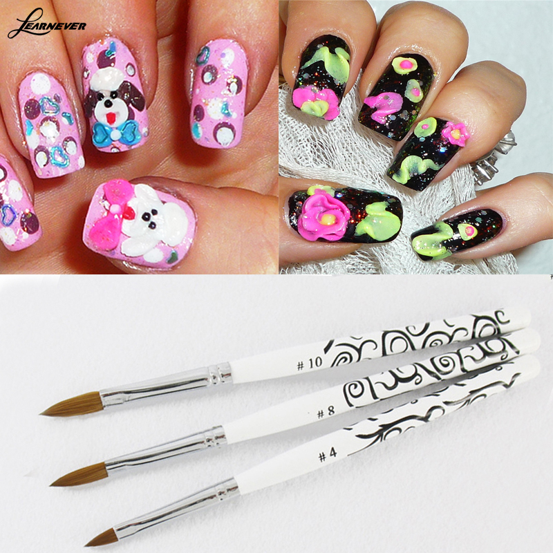 Perfect Sable Nail Brush Pictures - Nail Art Ideas - morihati.com