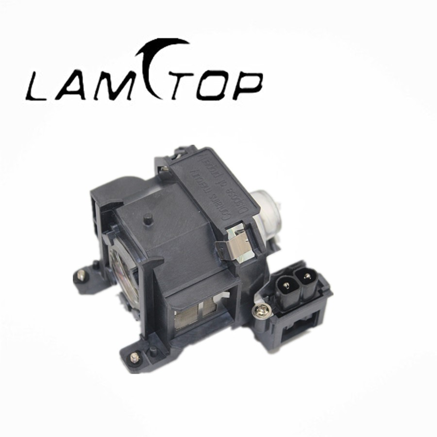 FREE SHIPPING  LAMTOP Hot selling  original lamp  with housing   ELPLP38/V13H010L38  for  EMP1720 free shipping lamtop hot selling original lamp with housing np10lp for np200