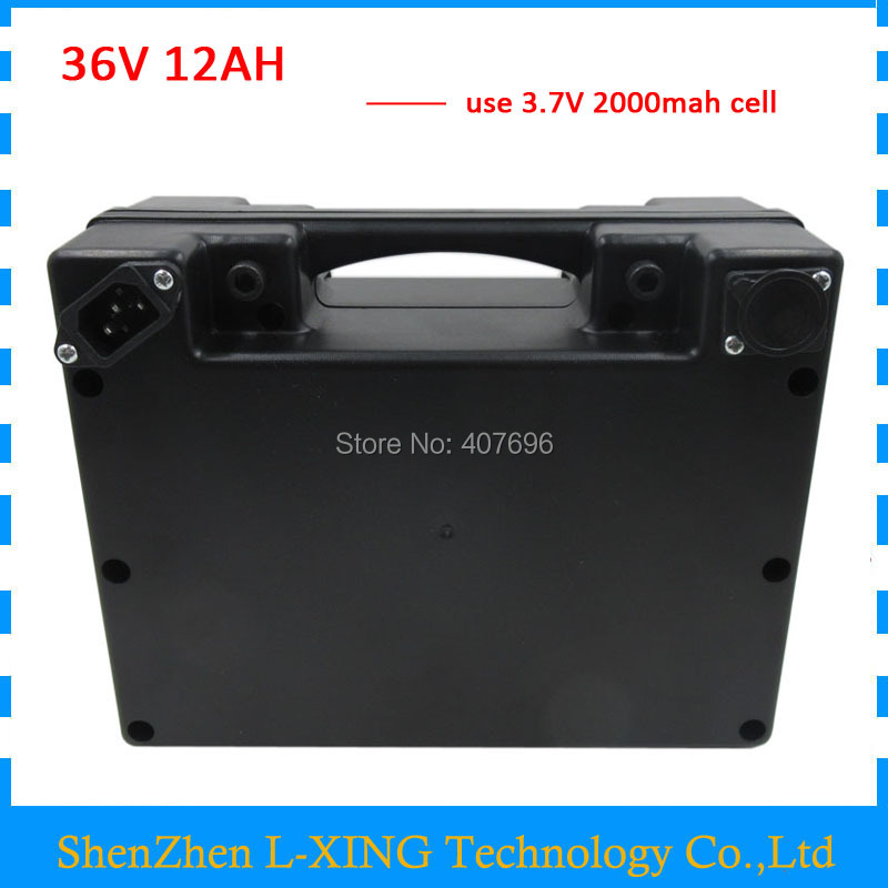 36V 12AH battery 350W 500W 36 V 12ah Electric bike battery with waterproof case use 15A BMS 42V 2A Charger Free customs fee liitokala 36v 8ah 500w 18650 lithium battery 36v 8ah electric bicycle battery with pvc case for electric bike 42v 2a charger
