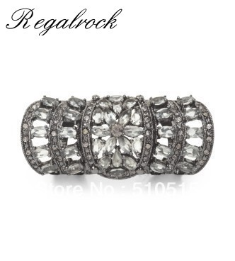 Regalrock Motif Crystal Armor Knuckle Ring все цены