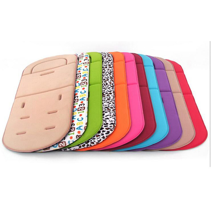 Baby Stroller Cotton Pad Buggy Car Seat Cushion Minnie Infant Stroller Cushion Cotton Cover Mat Seat Liner