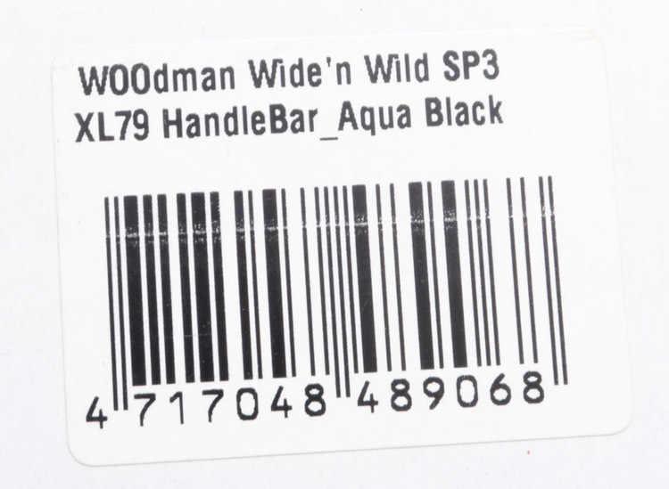 Autentyczne francuskie WOODMAN nowy SP3 XL79 31.8*790 MM rower górski Swallow-w kształcie kierownica ze stopu aluminium rower kierownica