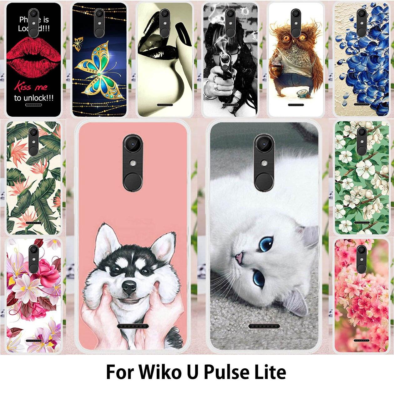②Phone Bumper For Coque WIKO U Pulse Lite Case For Wiko UPulse ...