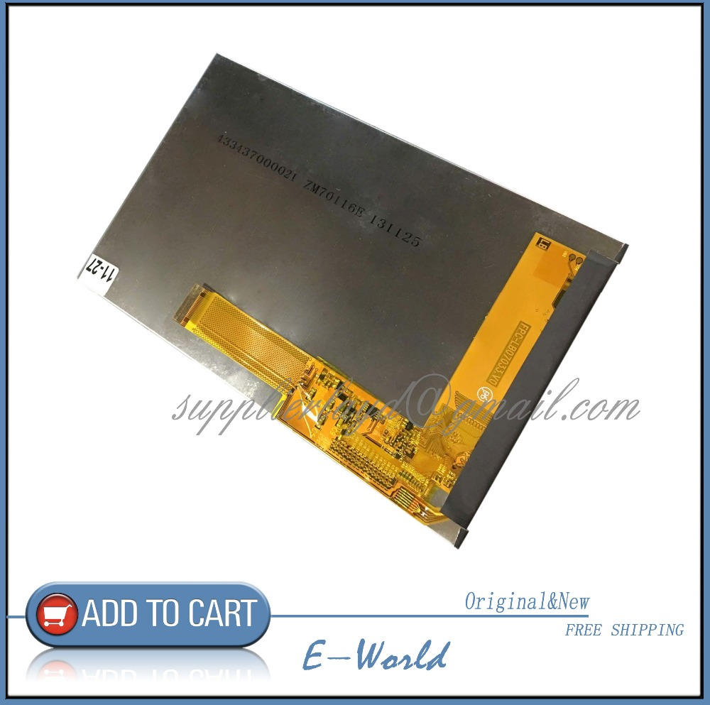 Original and New 7inch LCD screen ZM70116E ZM70116 for tablet pc free shipping