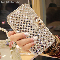 For Xiaomi Redmi 4X Mi Note 4X 4 Case Bling Diamond Leather Cover For Xiaomi Redmi