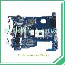 NCQF0 LA-5981P MB.PWL02.001 MBPWL02001 For acer aspire 5943g motherboard HM55 DDR3 ATI HD 5850 Graphics