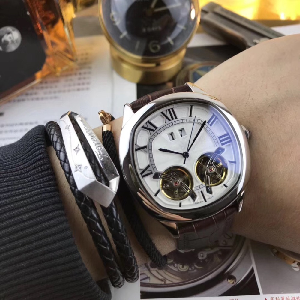 Mens Watches Top Brand Runway Luxury European Design Automatic Mechanical Watch S0721 цена и фото