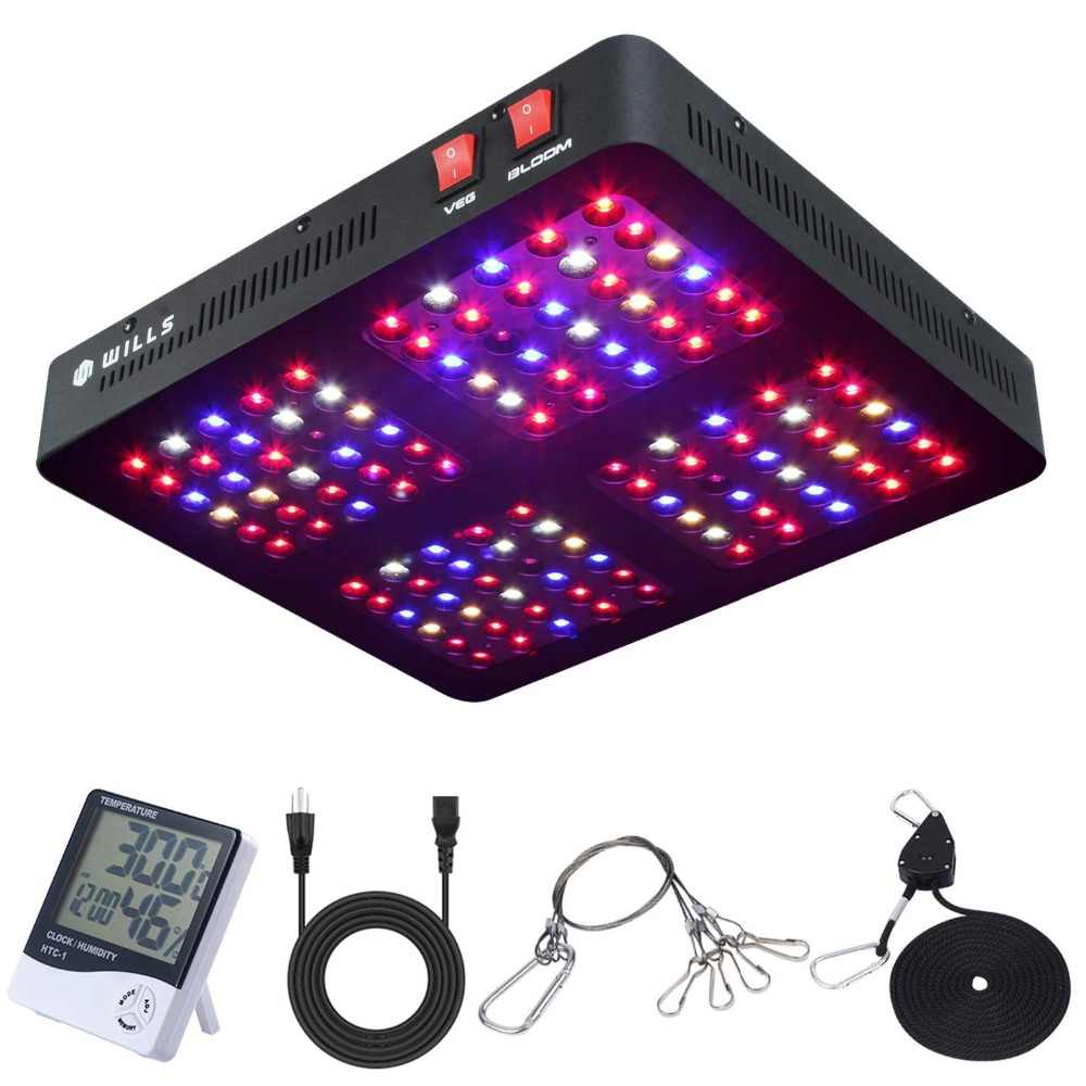 Phlizon lampada led grow 1200 W led coltiva la luce a spettro completo, impianto luce per growbox indoor grow tenda