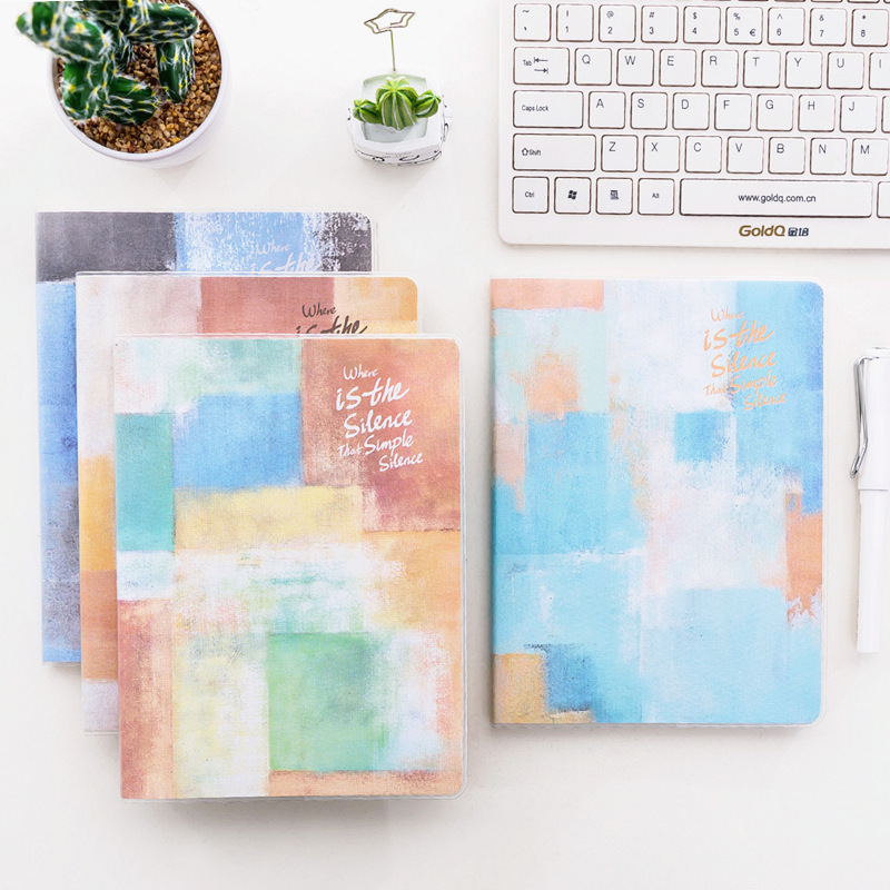 kemila B5 Notebook Stationery Notebook Thickening Rubber Set Remember Diary Notebook You Student Small Fresh Line Basis notebook season b5 18k26