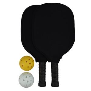 Image 5 - Pickleball Racket Set Carbon Fiber Composition PE Honeycomb Core 2 Pickleballs 2 Pickleball Paddle