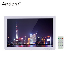 Caption scroll andoer picture clock alarm electronic photo frame control remote