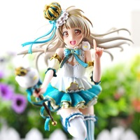 Love Live! School Idol Festival Kotori Minami Snowman Ver. 1/7 Scale PVC Painted Figure Collectible Model Toy 23cm