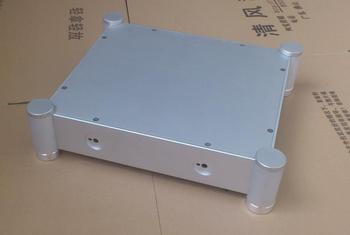 BZ3607B silver Full Aluminum Enclosure / mini AMP case/ Preamp box/ PSU chassis