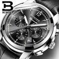 Reloj mecánico automático de Suiza, relojes de marca de lujo Binger para hombre, reloj de zafiro, reloj impermeable para hombre B1178-20