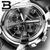 Switzerland Automatic Mechanical Watch Men Binger Luxury Brand Watches Male Sapphire Clock Waterproof Reloj Hombre B1178