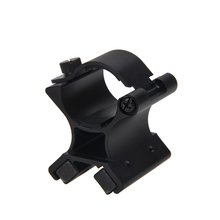 цена на DIY X-WM02 23-26mm Strong Dual Magnetic X Tactical Flashlight Gun Mount Bracket cycling accessories