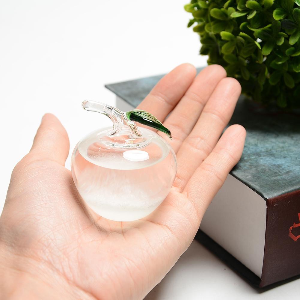 Kleine Kristall Wetter Prognose Flasche Glas Storm Flasche Home Buro