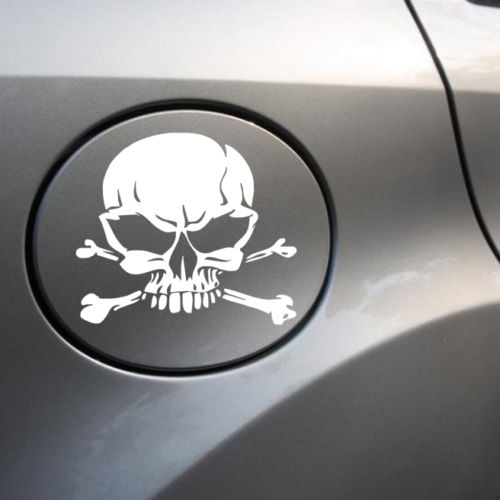Skulls Pattern Car Stickers Auto Styling Car Window Decal Vinyl Adhesive Sticker