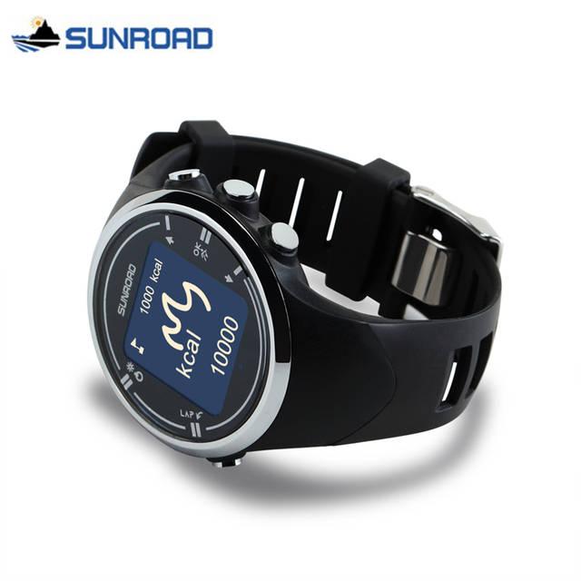 cf11c9188c9 placeholder SUNROAD Digital GPS Watch Smart Bluetooth Sport Wristwatch  Heart Rate Monitor Calories Counter Pedometer Clock Relogio