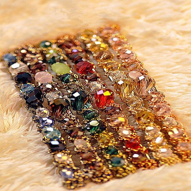1PC Fashion Women Girls Korean Fashion Crystal Rhinestone Barrette Hairpin   Headwear   Hair Clip Beauty Hair Accessories