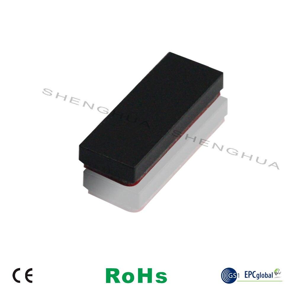 10pcs/pack Heat Resistant Long Range RFID Tag Anti Metal Self Adhesive Ceramic Small Rewritable RFID Sticker Blank For Tracking