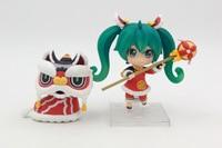 Hot 1SET 10cm pvc Japanese anime figure Hatsune Miku 654# Nendoroid action figure collectible model toys brinquedos