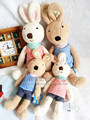 le sucre sugar rabbit doll stuffed toy bunny rabbit Prince doll wedding birthday gift (4pieces/lot)