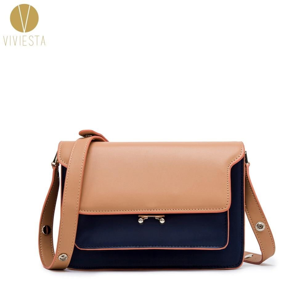 цена на LEATHER STRUCTURED SHOUDLER BAG - Women's 2018 Winter New Famous Fashion Vintage Accordion Trunk Crossbody Satchel Bag Handbag