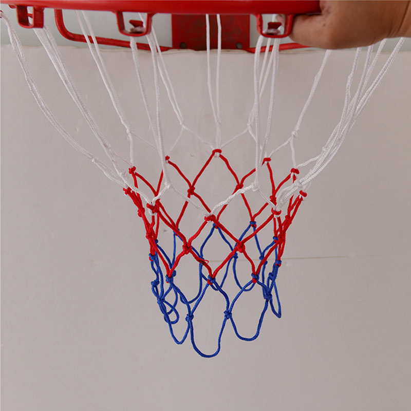 how to make basketball net with rope
