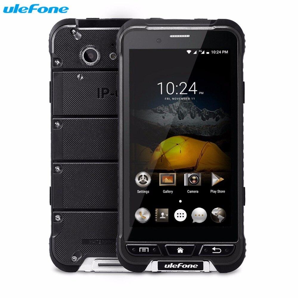 Galleria fotografica D'origine Ulefone ARMURE Mobile Téléphone 4.7 ''HD MTK6753 Octa Core Android 6.0 3 GB + 32 GB 13MP OTA 4G Étanche 3500 mAh <font><b>Smartphone</b></font>