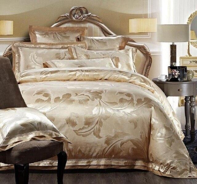 top qualite haute qualite en soie de luxe coton jacquard hotel drap de lit ensemble de