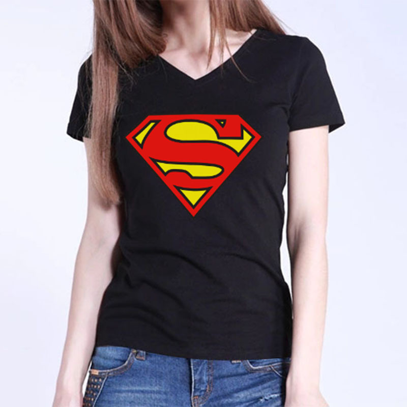 "This is for New Girl's T-Shirt embellished with "" Superman"