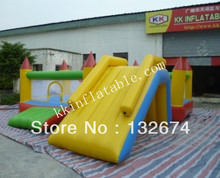 Inflatable products water sports inflatable water mix water trampoline children trampoline water font b bouncer b