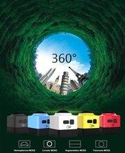 WiFiมินิ360×220องศาHD Panoramic VRกล้องกล้องวิดีโอ360องศากล้องวิดีโอ360กล้องสำหรับกีฬาการกระทำCUBE360