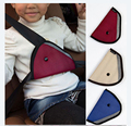 Comfortable Child Car Seat Belt Holder Triangle Car Accessories 3 Color Option Seat Belts Padding