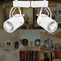 ICOCO New Arrival 1 Pcs AC 85 265V 15W LED Track Light Commercial Lighting Led Ceiling