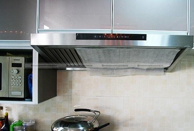 Shanghaimagicbox stück reinigen kochen vlies dunstabzugshaube