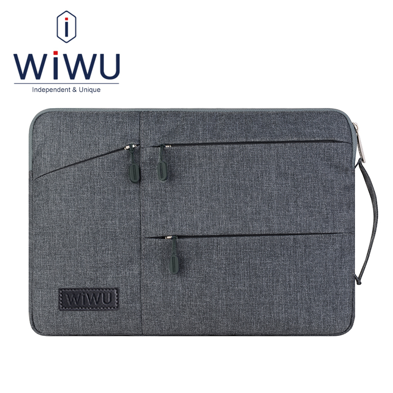 WiWU Laptop Bag 13 Tablet Sleeve Case for Apple iPad Pro 12.9 Macbook Air Pro 13.3 Waterproof Shockproof Notebook Pouch mathey tissot smart h6940mai