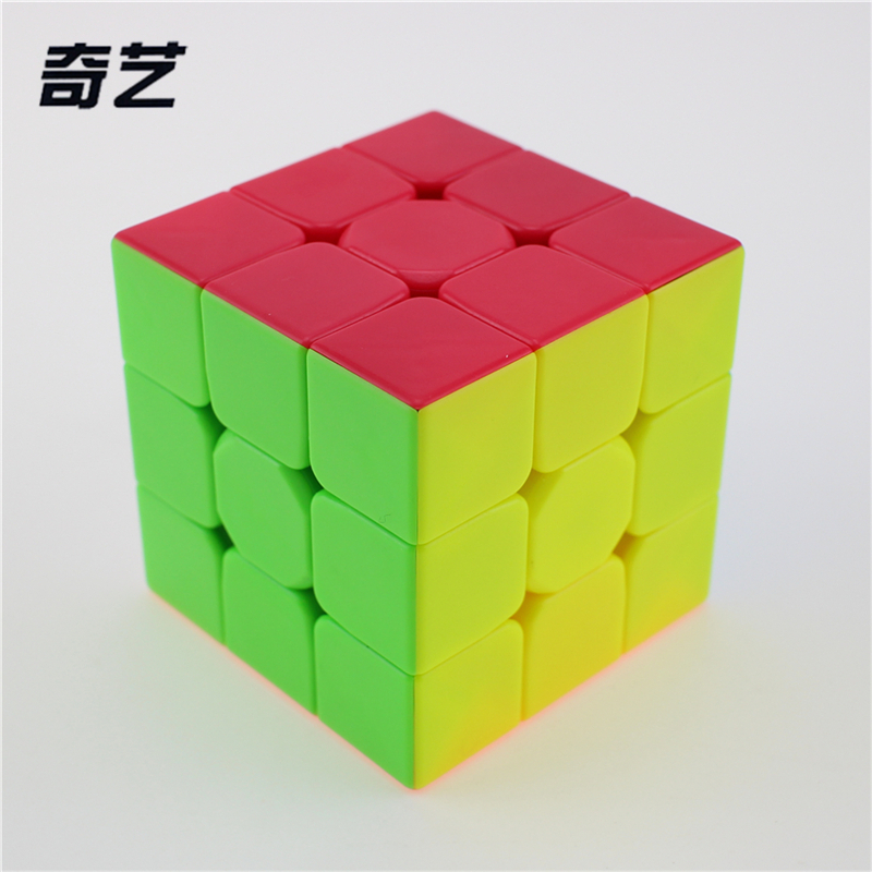 Newest QiYi Warrior W 3x3x3 Profissional Magic Cube Competition Speed Puzzle Cubes Toys For Children Kids cubo magico Qi103 2018 teenage girls summer casual dress girls cotton dresses kids letter printed beach dress girls slim dresses vestidos cc804