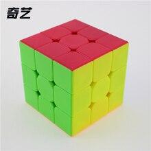 Новый QiYi Пн Клык Ge 3x3x3 Magic Cube Profissional Конкурс Скорость Кубики Головоломки Игрушки Для Детей дети cubo magico Qi103