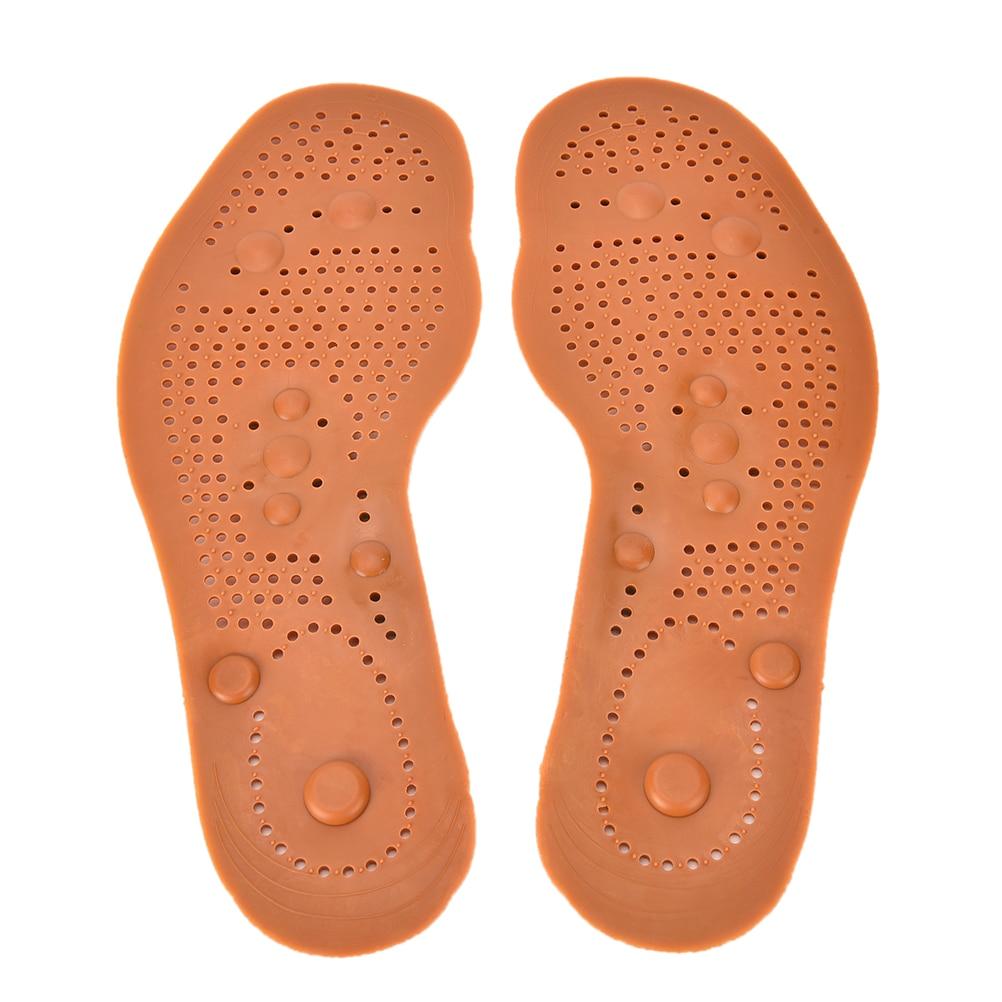 1 Paar Neue Ankunft Magnetfeldtherapie Magnet Health Care Fußmassage Einlegesohlen Männer/frauen Schuh Komfort Pads Tragen-wider Pflege Werkzeug Kaufen Sie Immer Gut