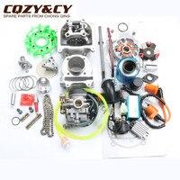 100cc большого диаметра производительность комплект GY6 50cc 139QMB китайский скутер Запчасти 50 мм/13 мм Диаметр цилиндров