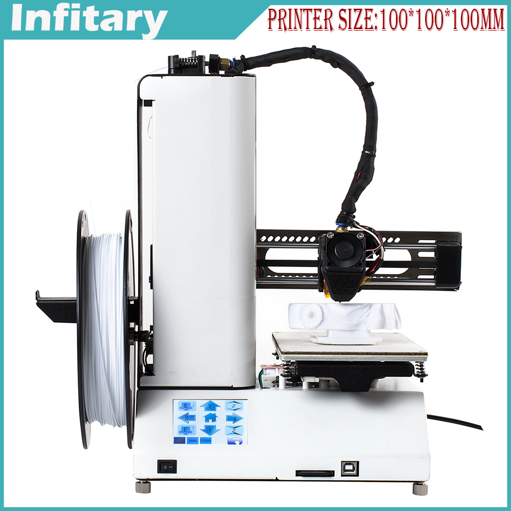 2016 MIni Full Assembled Desktop 3D font b Printer b font Metal Printing Size 3D Reprap