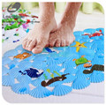 Child bath mat non-slip fish bathroom mat rug Badmat animals print pvc bathroom carpet baby bath mat for toilet