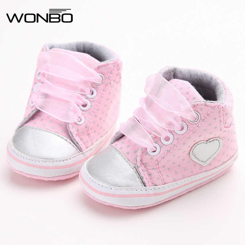 Wonbo Autumn Lace-Up First Walkers Sneakers Shoes Classic Casual Baby Shoes  Toddler Newborn Baby 3a8a9972a2db