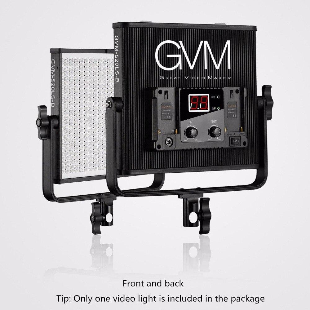 Gvm Photo Studio Led Ring Light: GVM Brightness 520 LED Video Light Dimmable Photography