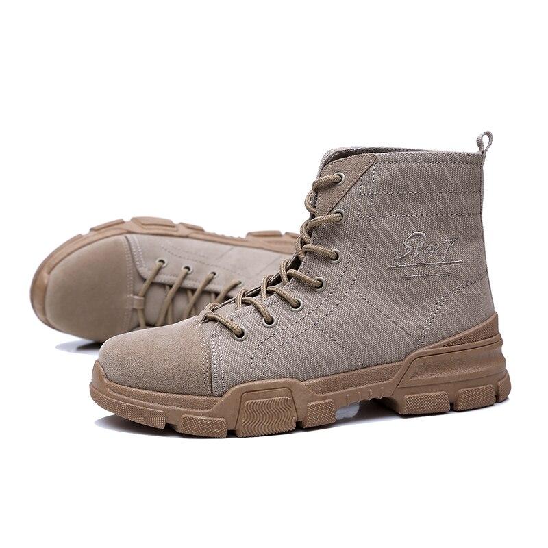 Dentelle De Hommes marron noir Nouveau Air Mode Chaussures Hiver Martin Plein 2018 Up Cowboy Aransue En Botas Beige Automne Masculina Bottes Style ax1qqnR